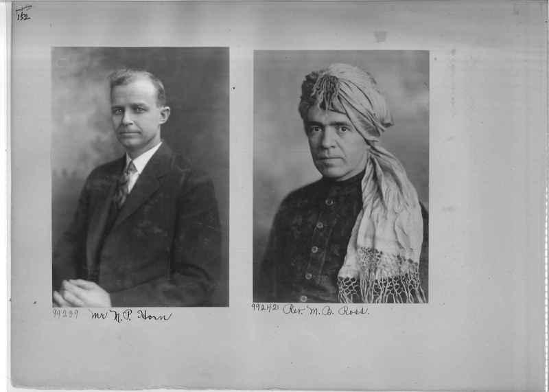 Mission Photograph Album - Portraits #04 Page 152