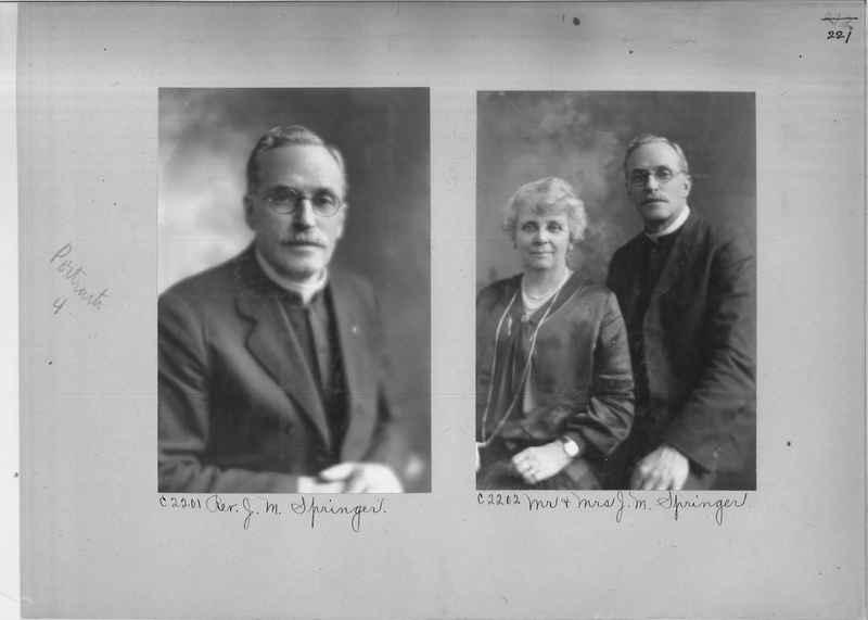 Mission Photograph Album - Portraits #04 Page 221