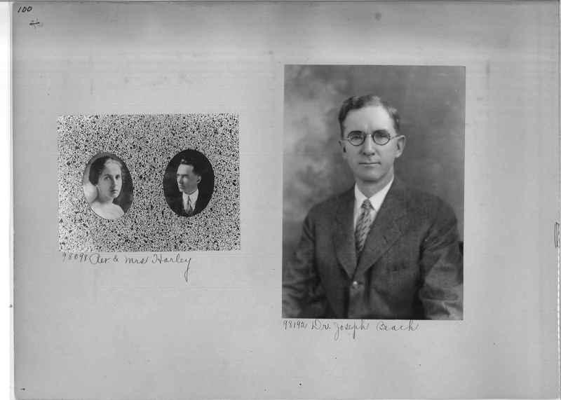 Mission Photograph Album - Portraits #04 Page 100