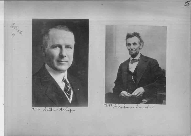 Mission Photograph Album - Portraits #04 Page 149