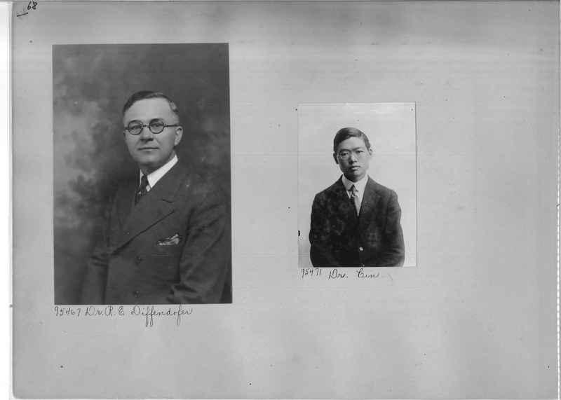 Mission Photograph Album - Portraits #04 Page 068