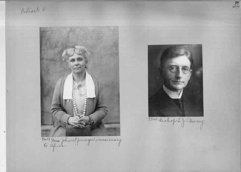Mission Photograph Album - Portraits #04 Page 039