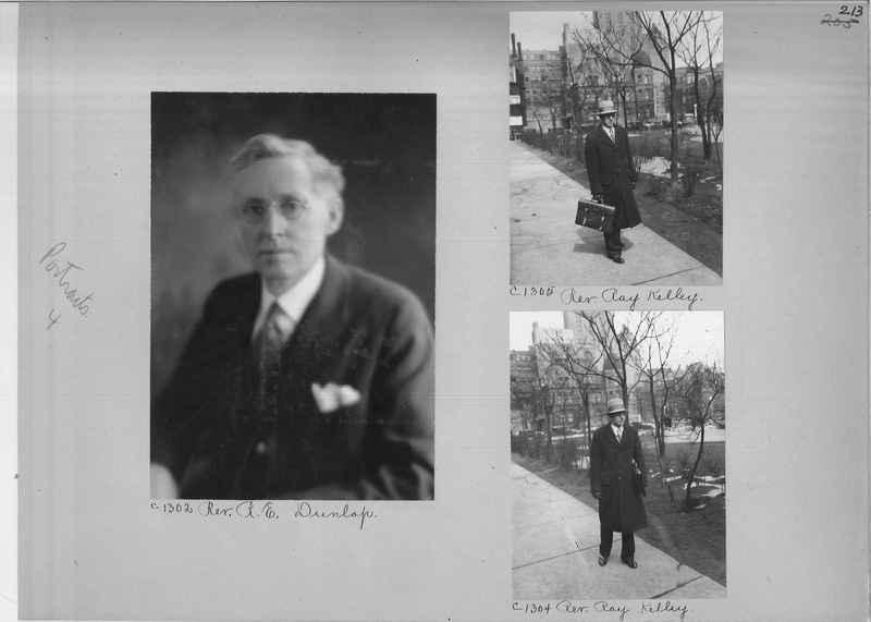 Mission Photograph Album - Portraits #04 Page 213