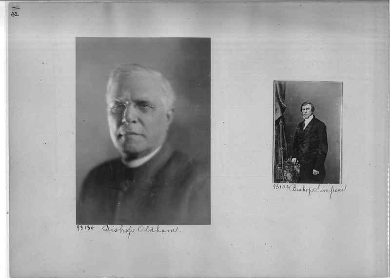 Mission Photograph Album - Portraits #04 Page 042