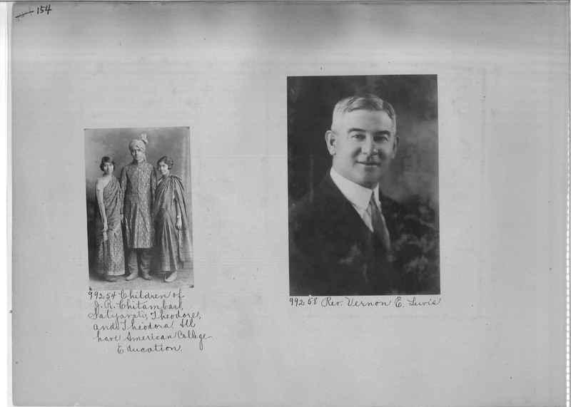 Mission Photograph Album - Portraits #04 Page 154