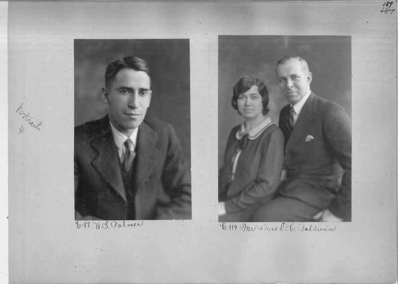 Mission Photograph Album - Portraits #04 Page 189