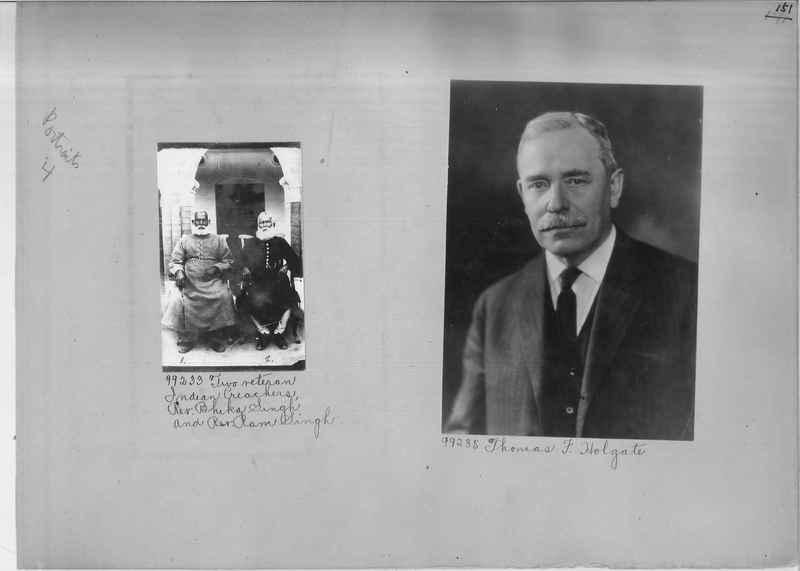Mission Photograph Album - Portraits #04 Page 151