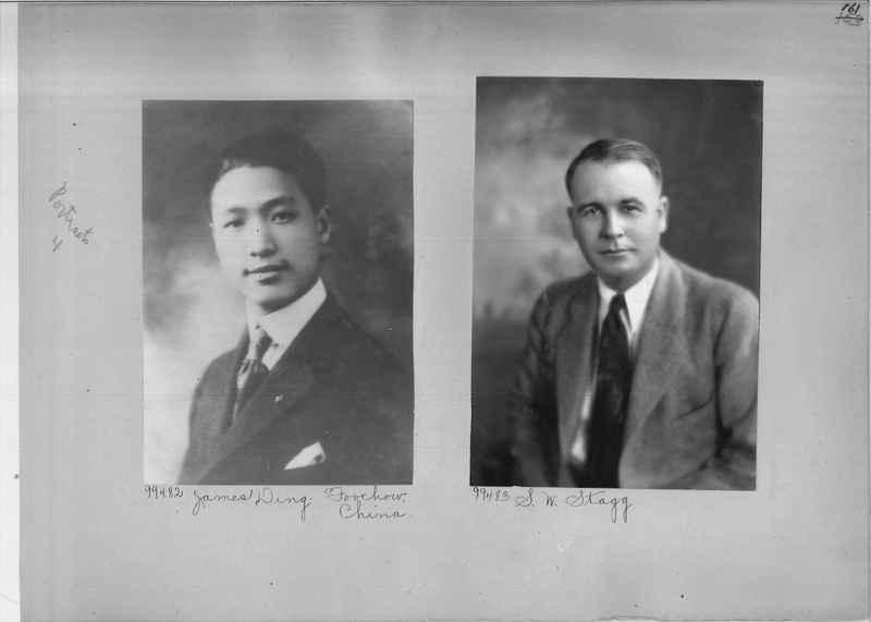 Mission Photograph Album - Portraits #04 Page 161