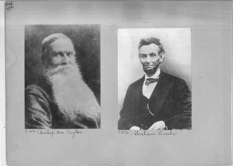 Mission Photograph Album - Portraits #04 Page 206