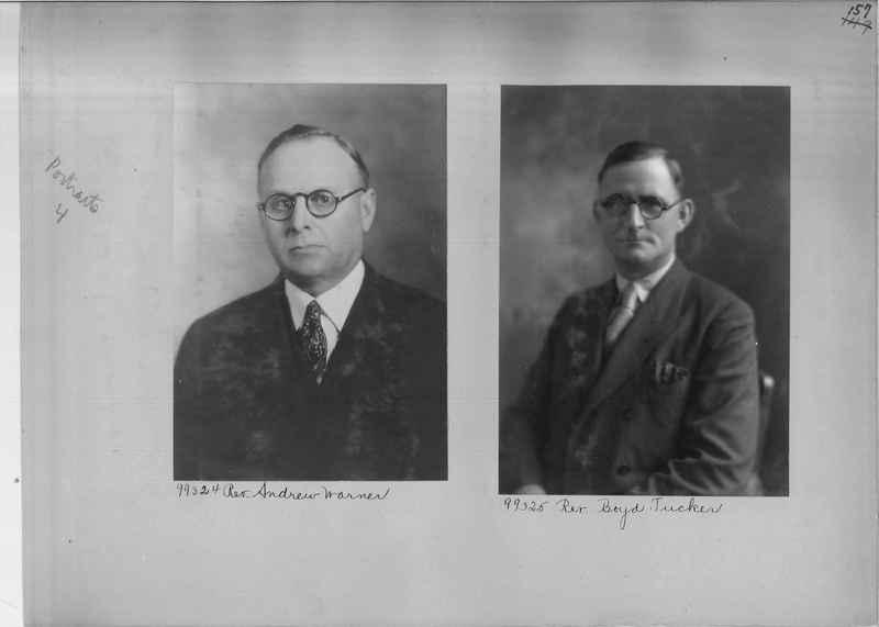 Mission Photograph Album - Portraits #04 Page 157