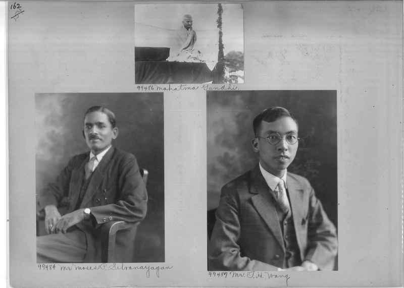 Mission Photograph Album - Portraits #04 Page 162