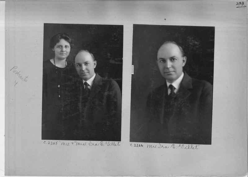 Mission Photograph Album - Portraits #04 Page 223