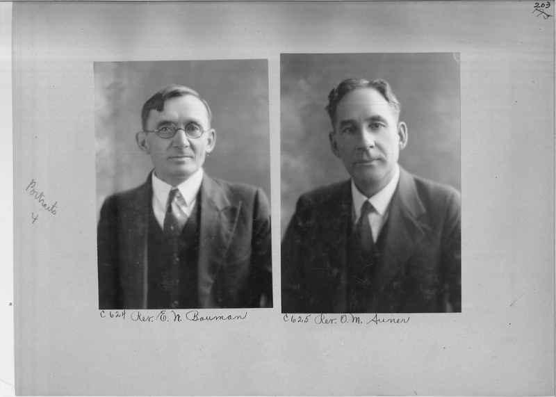 Mission Photograph Album - Portraits #04 Page 203