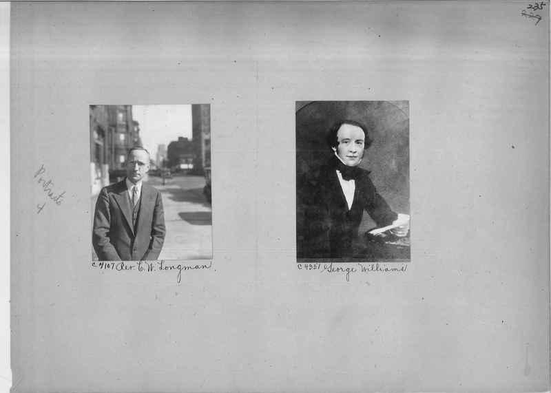 Mission Photograph Album - Portraits #04 Page 235