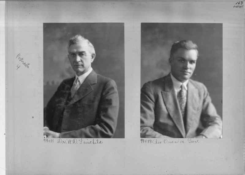Mission Photograph Album - Portraits #04 Page 163