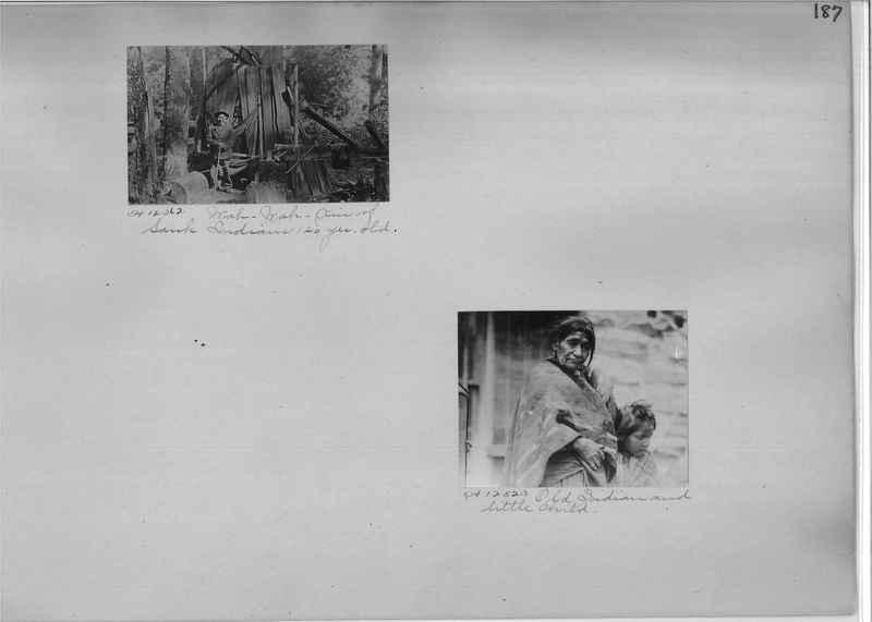 Mission Photograph Albums - Indians #1 page 0187