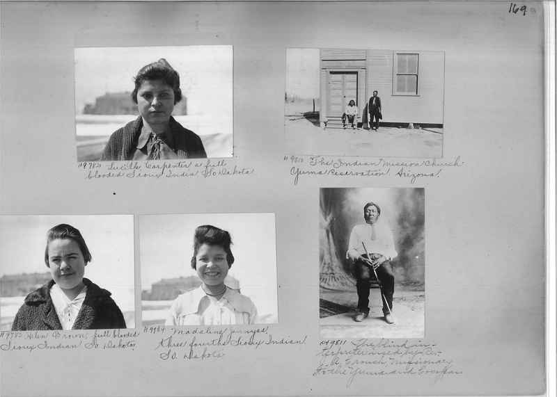 Mission Photograph Albums - Indians #1 page 0169