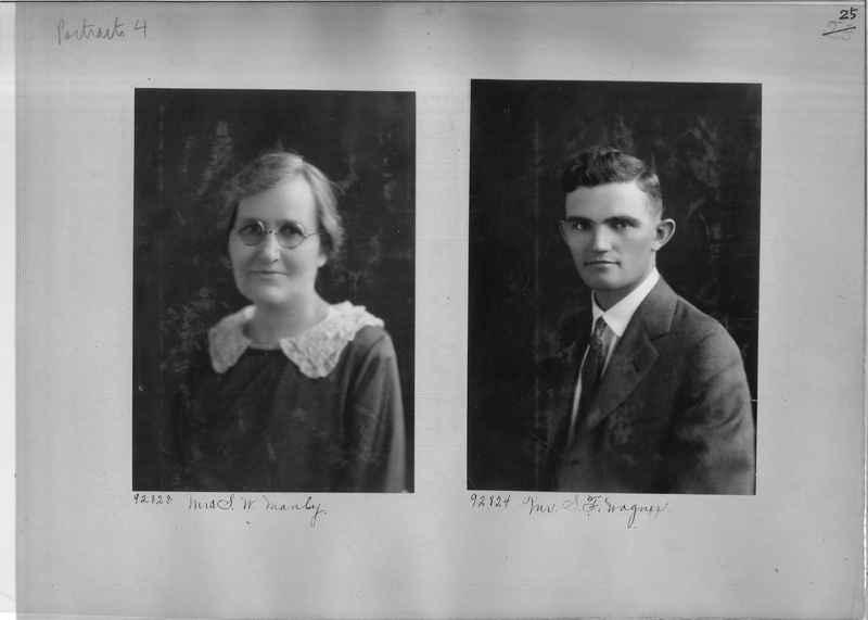 Mission Photograph Album - Portraits #04 Page 025