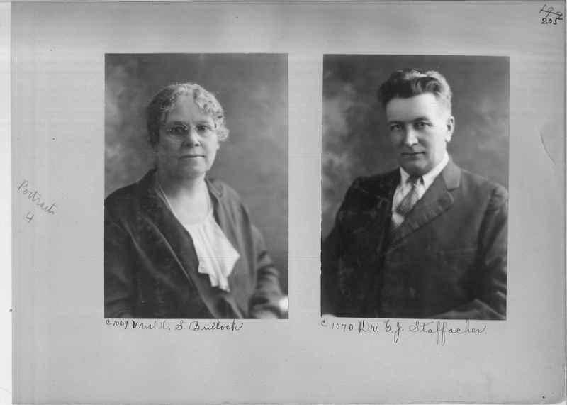 Mission Photograph Album - Portraits #04 Page 205