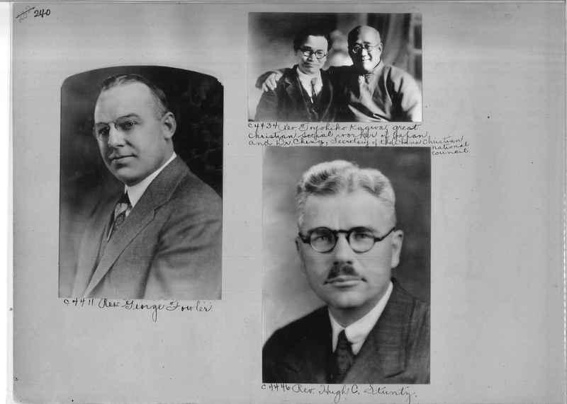Mission Photograph Album - Portraits #04 Page 240