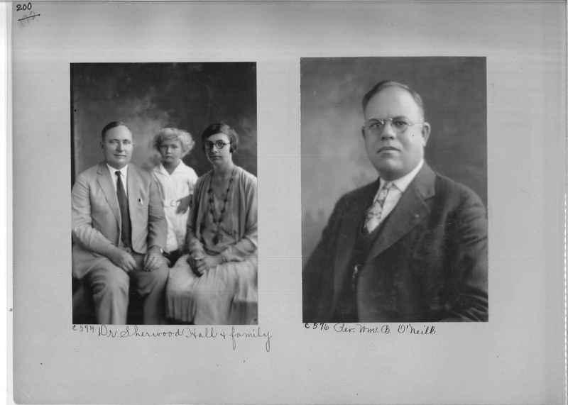 Mission Photograph Album - Portraits #04 Page 200