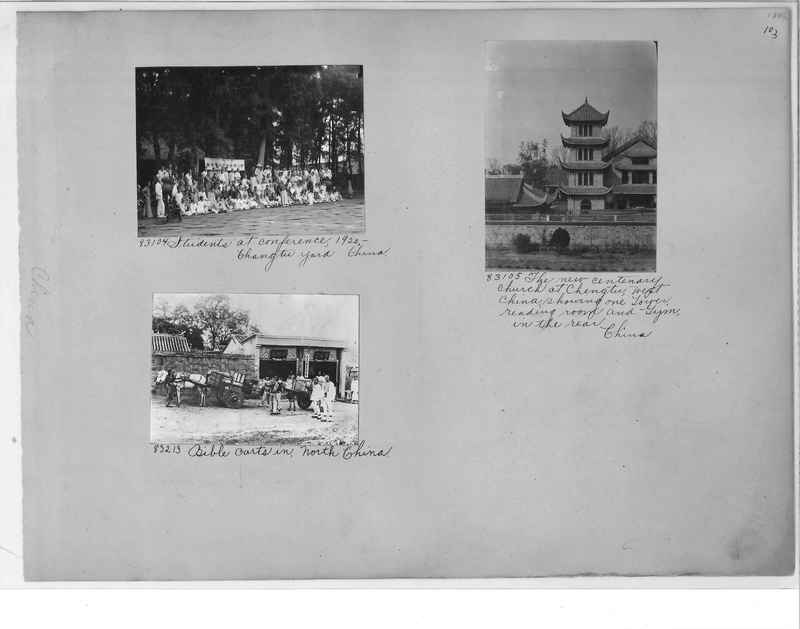 Mission Photograph Album - China #11 pg. 0103