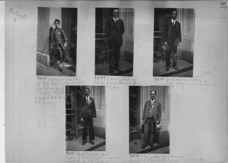 Mission Photograph Album - Portraits #04 Page 127