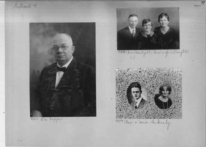 Mission Photograph Album - Portraits #04 Page 099