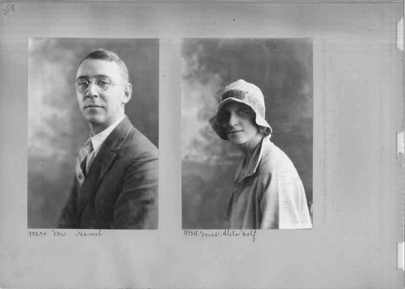 Mission Photograph Album - Portraits #04 Page 252