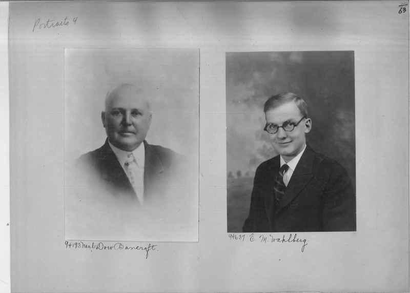 Mission Photograph Album - Portraits #04 Page 063