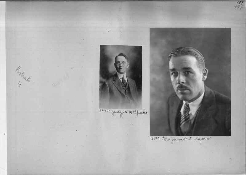 Mission Photograph Album - Portraits #04 Page 179