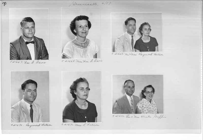 Mission Photograph Album - Portraits #10 Page 0070