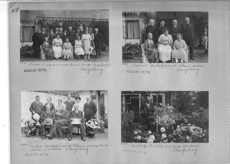 Mission Photograph Album - India #09 Page 0218