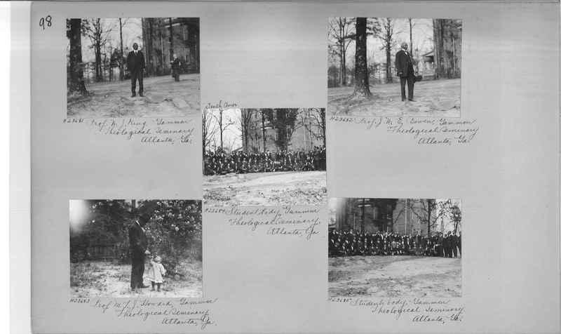 Mission Photograph Album - Negro #3 page 0098