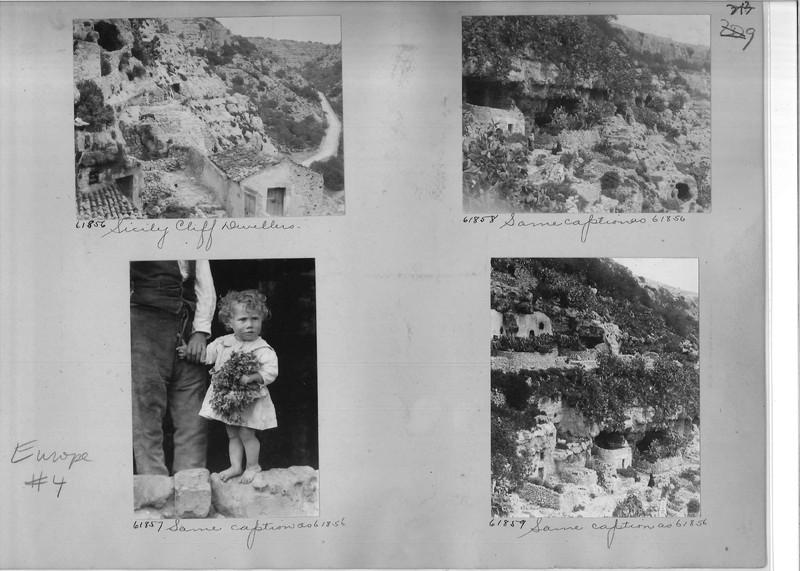 Mission Photograph Album - Europe #04 Page 0213