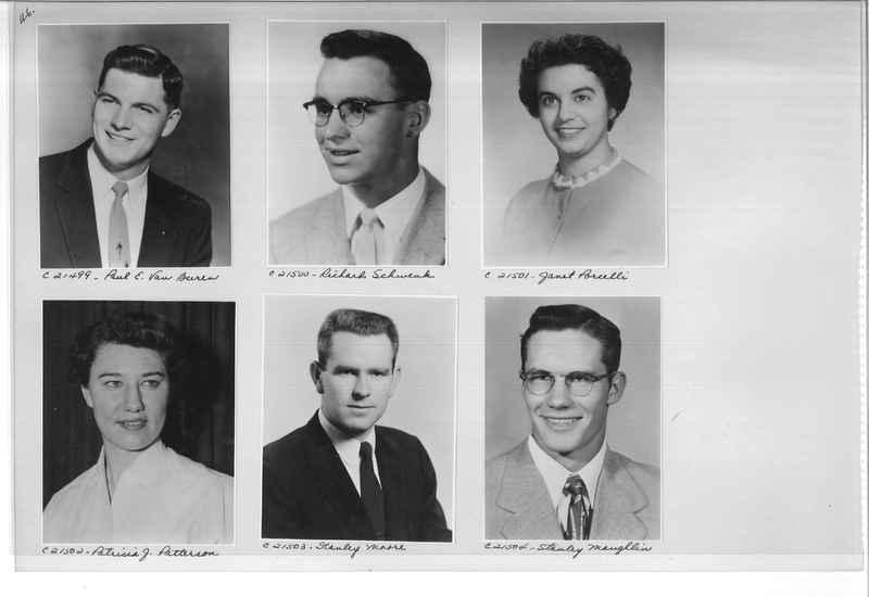 Mission Photograph Album - Portraits #10 Page 0046