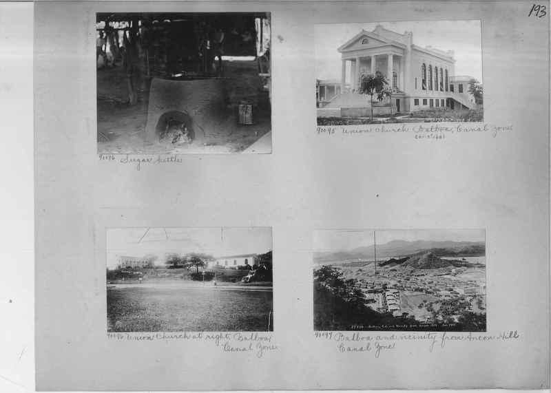 Mission Photograph Album - Panama #04 page 0193