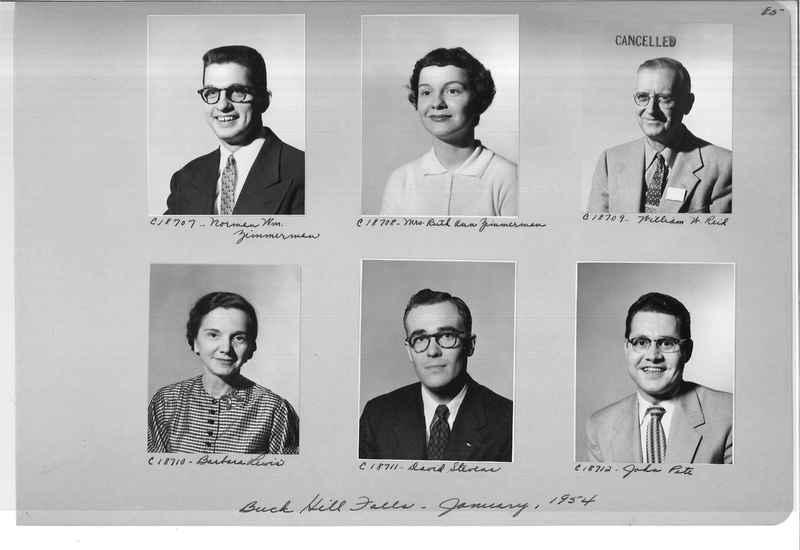 Mission Photograph Album - Portraits #08 Page 0085