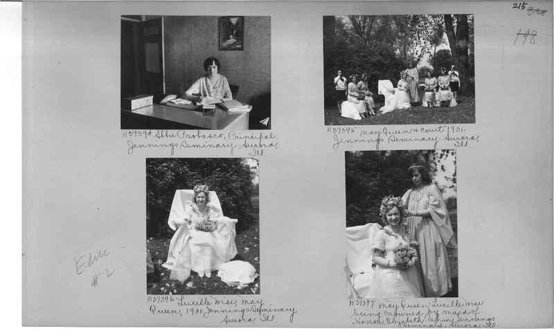 Mission Photograph Album - Education #2 page 0215