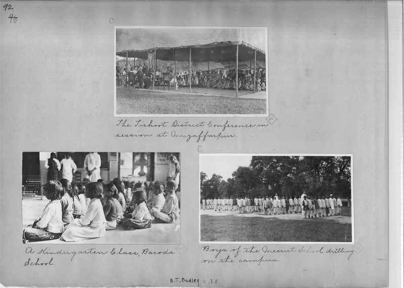 Mission Photograph Album - India - O.P. #01 Page 0092