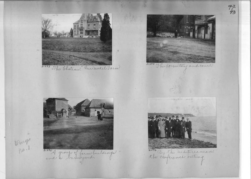 Mission Photograph Album - Europe #01 Page 0093