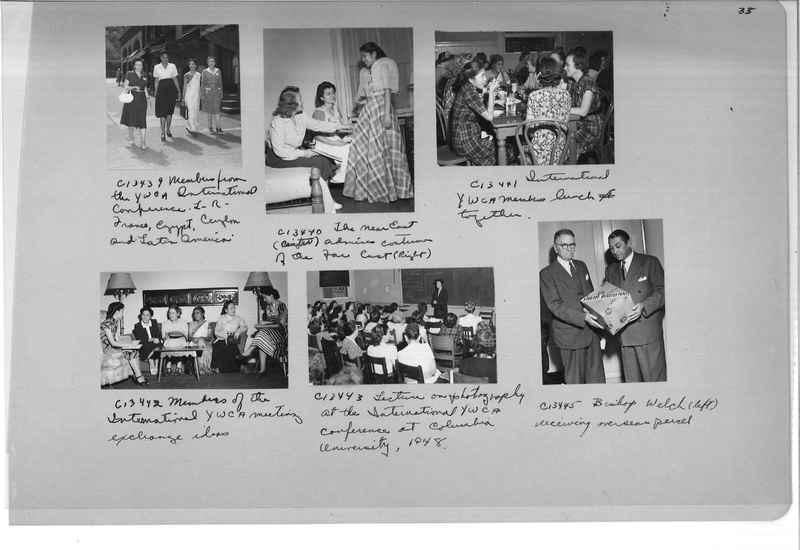 Mission Photograph Album - Portraits #13 Page 0035