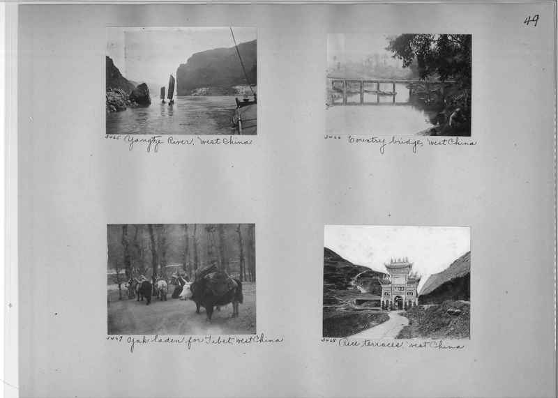 Mission Photograph Album - China #2 page  0049