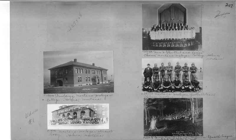 Mission Photograph Album - Education #1 page 0217