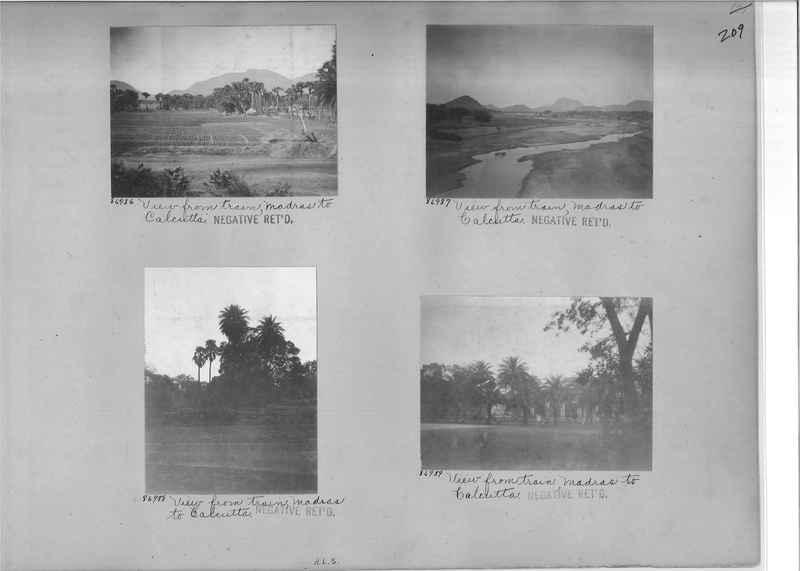 Mission Photograph Album - India #09 Page 0209