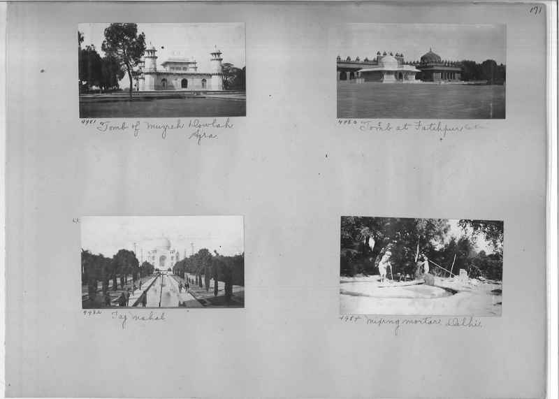Mission Photograph Album - India #01 page 0171