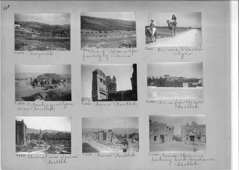 Mission Photograph Album - Western Asia - #01 page_0160