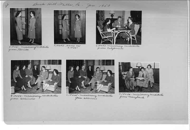 Mission Photograph Album - Portraits #08 Page 0022