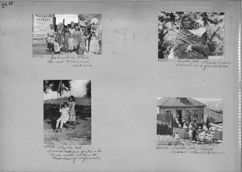 Mission Photograph Album - Indians #2 page_0058