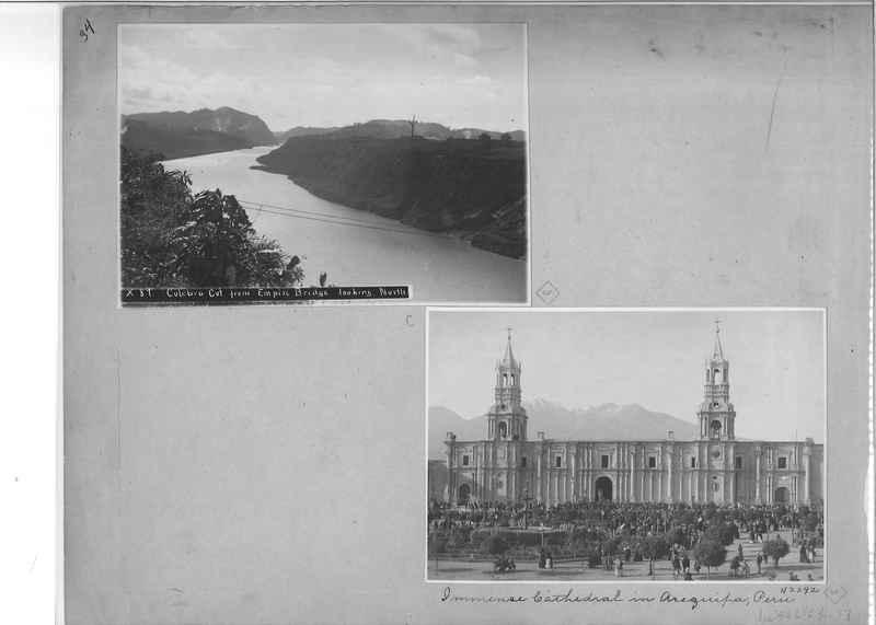 Mission Photograph Album - South America O.P. #1 page 0034